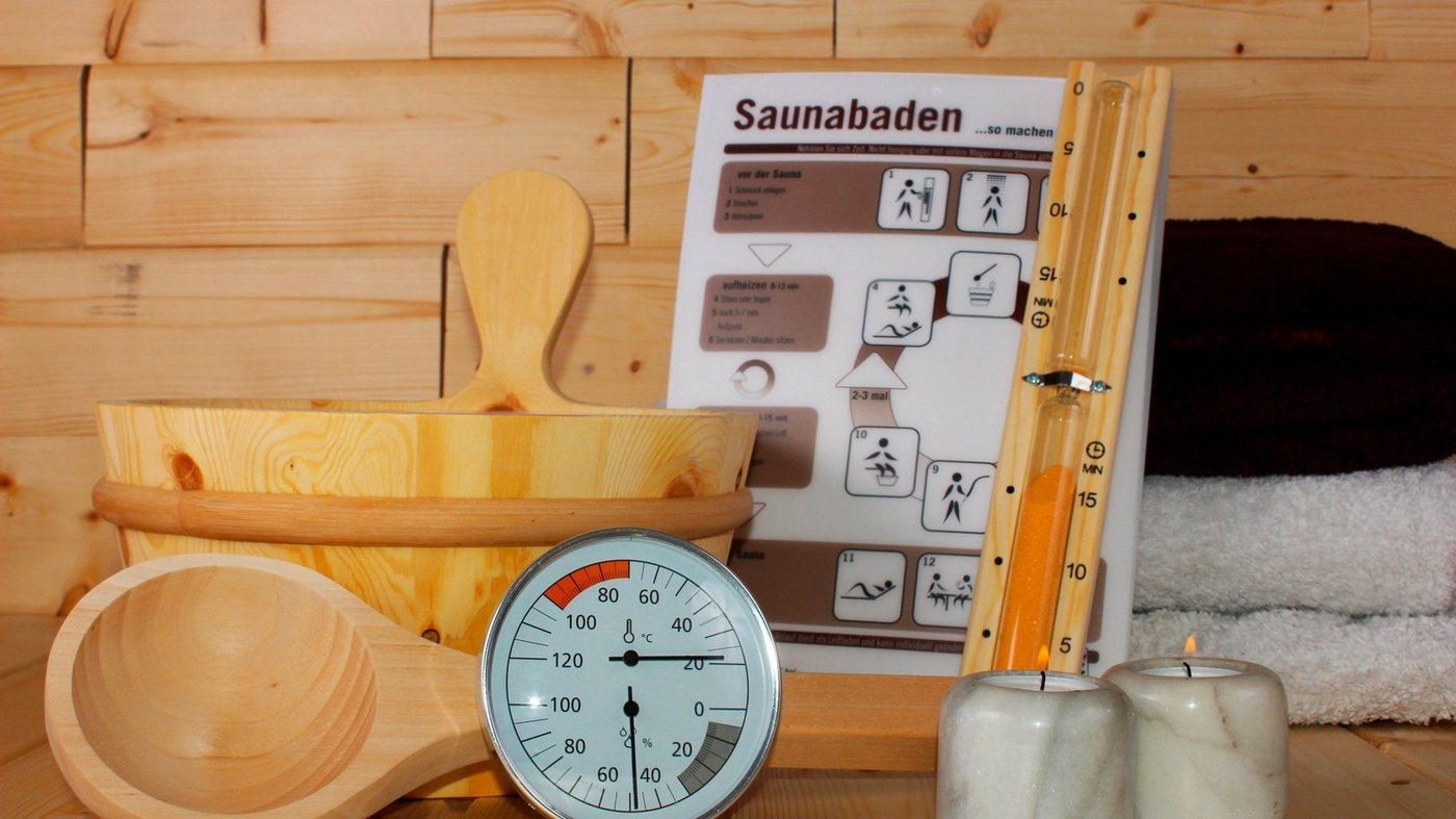 KARIBU Sauna-Wellness-Set »Classic«, 6-tlg.   Bad > Sauna & Zubehör > Sauna-Zubehör   Karibu