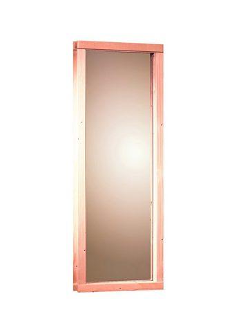 KARIBU Saunos langas dėl 68 mm pirtis BxH: 43...