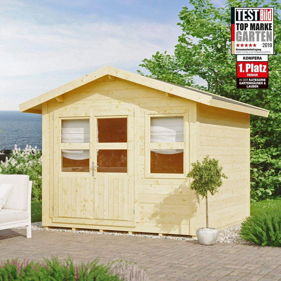 konifera gartenhaus blankenese 2 bxt 307x293 cm inkl fu boden online kaufen otto