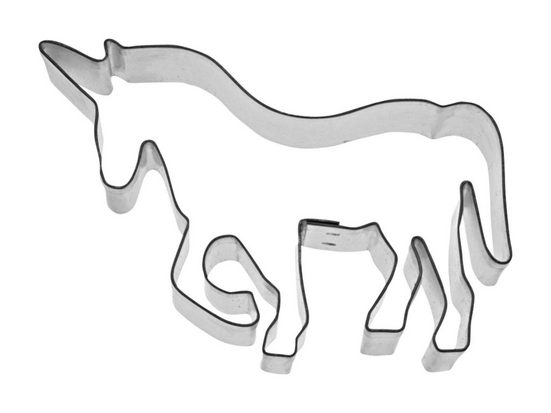 STÄDTER Ausstechform Einhorn »Pferde«