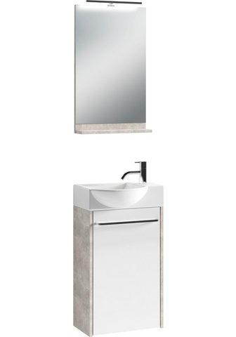 HOMEXPERTS Vonios kambario baldų komplektas »Shin...