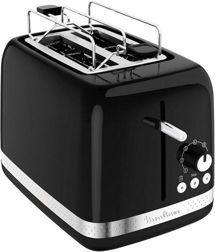 Moulinex Toaster LT3018 Soleil, 2 lange Schlitze, 850 W