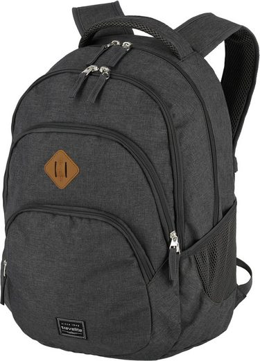 travelite Cityrucksack »Basics, anthrazit«