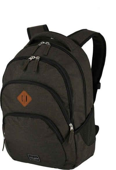 travelite Cityrucksack »Basics, braun«