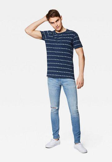 Mavi T-Shirt »INDIGO STRIPE TEE« Indigo T-Shirt