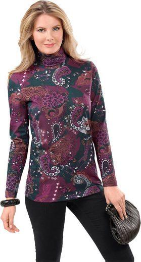 Classic Basics Shirt mit hübschem Paisley-Druck