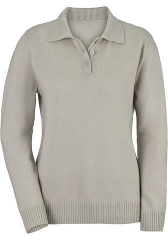 CLASSIC Polo megztinis in luxuriöser Merino-Qu...