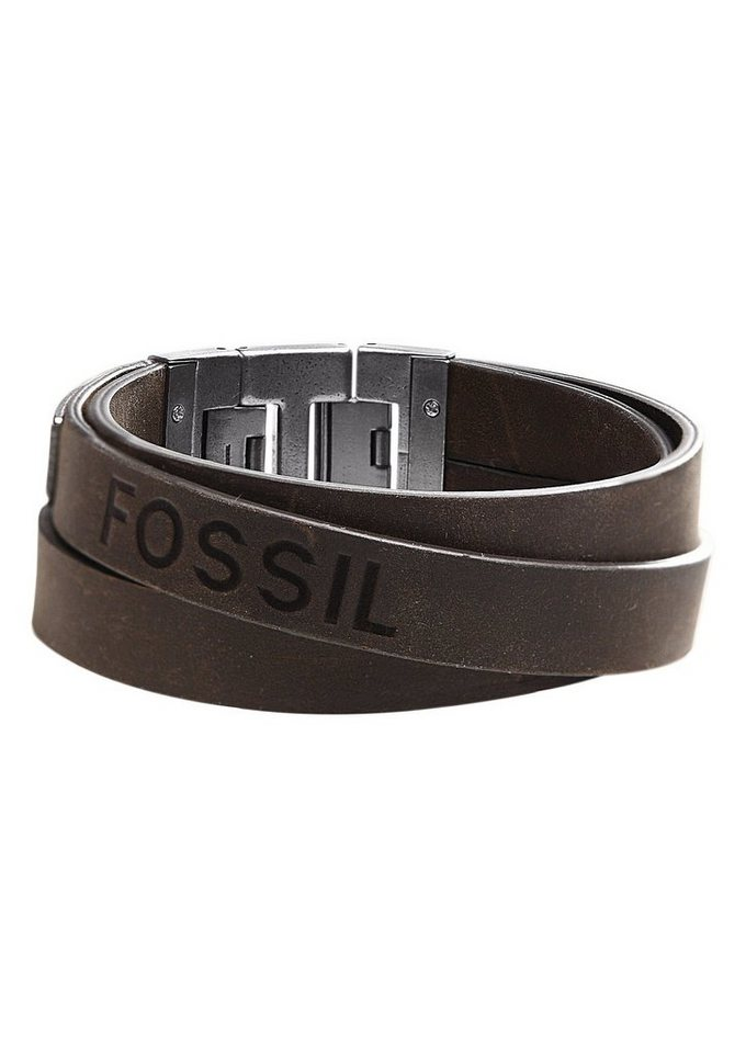 Armband, Fossil, »JF84955« in braun