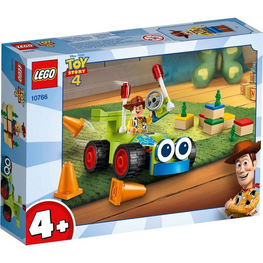 LEGO® ® 10766 Juniors Toy Story 4: Woody & Turbo