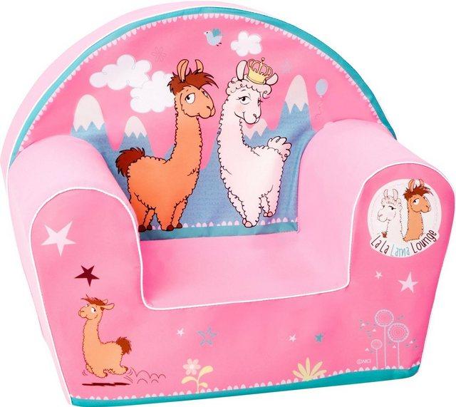 Sitzmöbel - Knorrtoys® Sessel »NICI La La Lama Lounge«, für Kinder Made in Europe  - Onlineshop OTTO