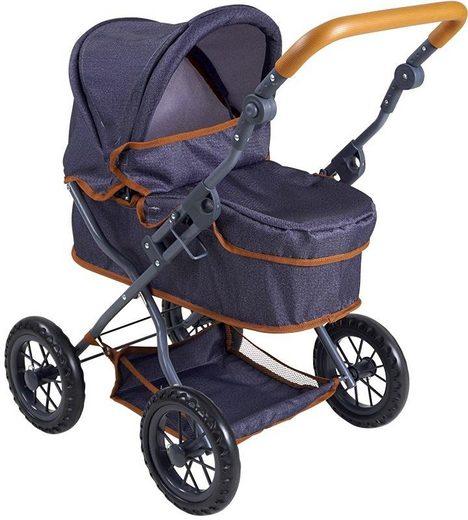 Knorrtoys® Puppenwagen »First - dark blue«
