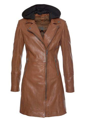 Пальто кожаное »Seneka«