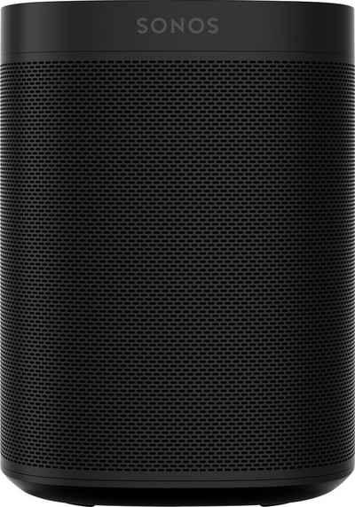 Sonos One Gen2 Smart Speaker (mit integrierter Sprachsteuerung)