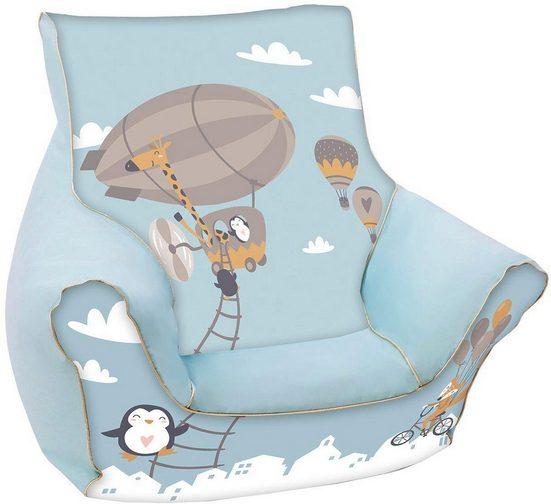 Knorrtoys® Sitzsack »Balloon«, für Kinder