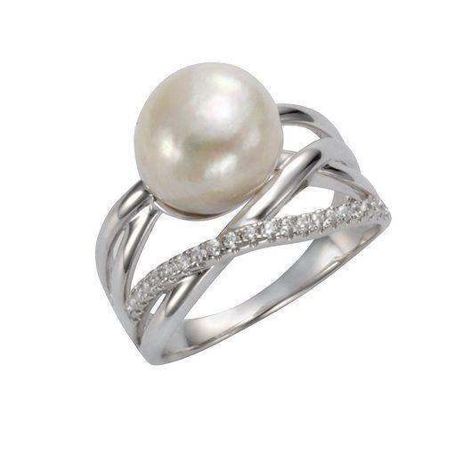 CELESTA Ring »925/- Sterling Silber rhodiniert«