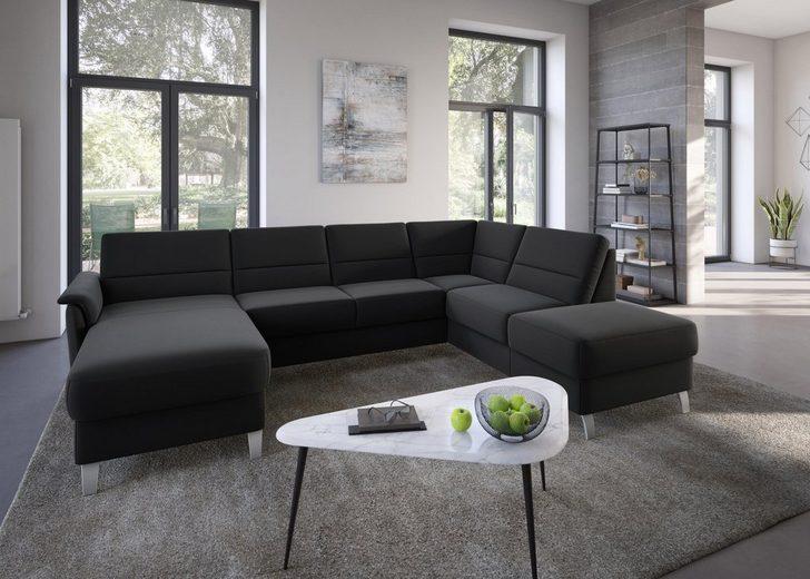 sit&more Wohnlandschaft, wahlweise mit Bettfunktion und Stauraum