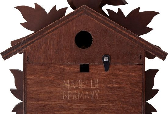 Home affaire Wanduhr »Hubert Herr« (Made in Germany)