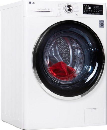 LG Waschtrockner F14WD95TN2, 9 kg/5 kg, 1400 U/Min