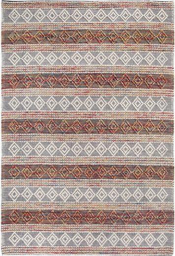Wollteppich »Aalborg«, LUXOR living, rechteckig, Höhe 10 mm, Handwebteppich aus 100% Wolle