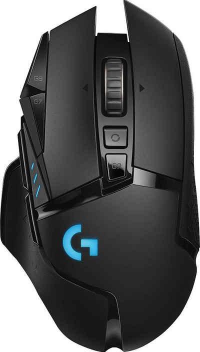 Logitech G »G502 LIGHTSPEED Wireless EER2« Gaming-Maus (Funk)