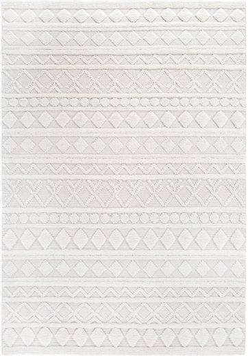 Wollteppich »Hägga«, LUXOR living, rechteckig, Höhe 15 mm, Handwebteppich aus 100% Wolle