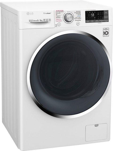 LG Waschtrockner 9 F14WD96TH2, 9 kg/6 kg, 1400 U/Min