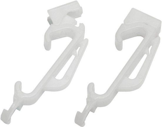 Gardinengleiter »Perfect Pleat Gleiter«, GARDINIA, (30-St), Kunststoff, Serie Vorhangschiene Perfectline