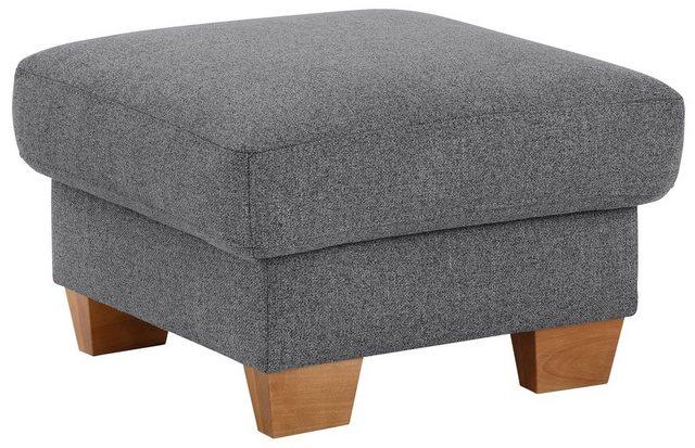 Sessel und Hocker - Home affaire Hocker »Steve Luxus«, mit besonders hochwertiger Polsterung für bis zu 140 kg  - Onlineshop OTTO