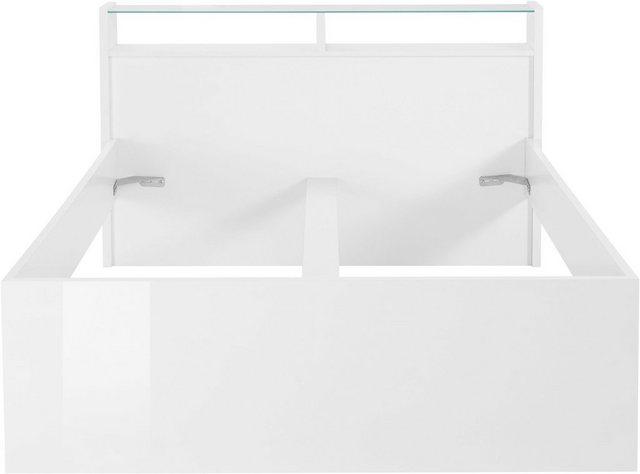 Betten - Tecnos Futonbett »Malika« › 140x200 cm › weiß  - Onlineshop OTTO