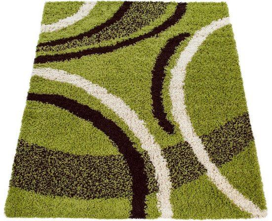 Hochflor-Teppich »Mango 301«, Paco Home, rechteckig, Höhe 35 mm