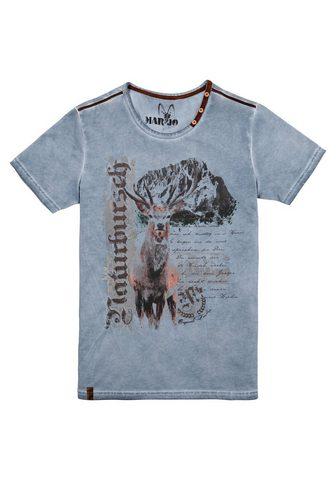 MARJO Marškinėliai Herren su raštas