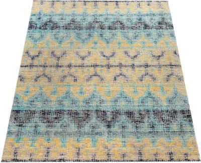 Teppich »Artigo 417«, Paco Home, rechteckig, Höhe 4 mm, Vintage Design, In- und Outdoor geeignet, Wohnzimmer