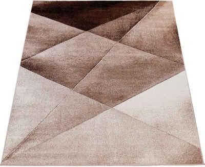 Teppich »ECE 922«, Paco Home, rechteckig, Höhe 14 mm, Kurzflor, Abstrakte Muster, Wohnzimmer