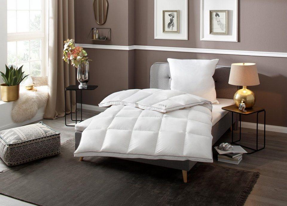 Gansedaunenbettdecke Superior My Home Selection Warm Fullung 100 Gansedaunen Bezug 100 Baumwolle 1 Tlg Auserwahlte Qualitat