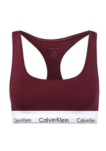 Calvin Klein Bralette-BH »MODERN COTTON« mit Racerback und breitem Bündchen
