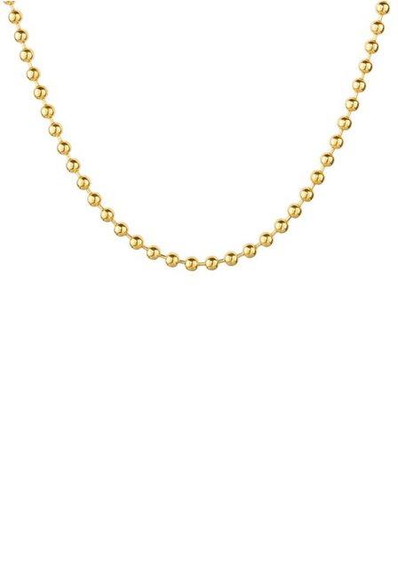 Firetti Edelstahlkette »Kugelkettengliederung, 3,0 mm breit, gelbgoldfarben«, Made in Germany | Schmuck > Halsketten > Edelstahlketten | Firetti