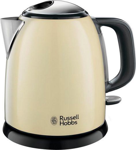 RUSSELL HOBBS Wasserkocher Colours plus cream 24994-70, 1 l, 2400 W