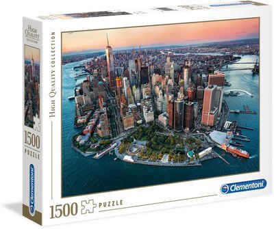 Clementoni® Puzzle »High Quality Collection - New York«, 1500 Puzzleteile, Made in Europe
