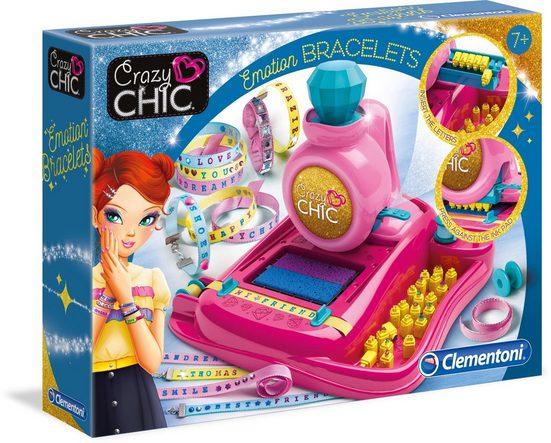 Clementoni® Kreativset »Crazy Chic Stimmungsarmbändchen«, mit kostenloser App