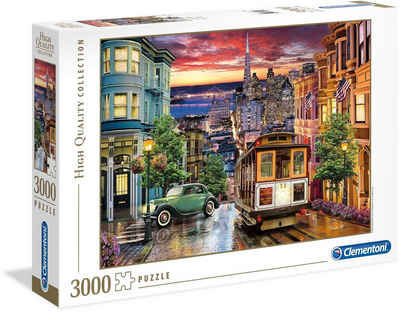 Clementoni® Puzzle »High Quality Collection - San Francisco«, 3000 Puzzleteile, Made in Europe
