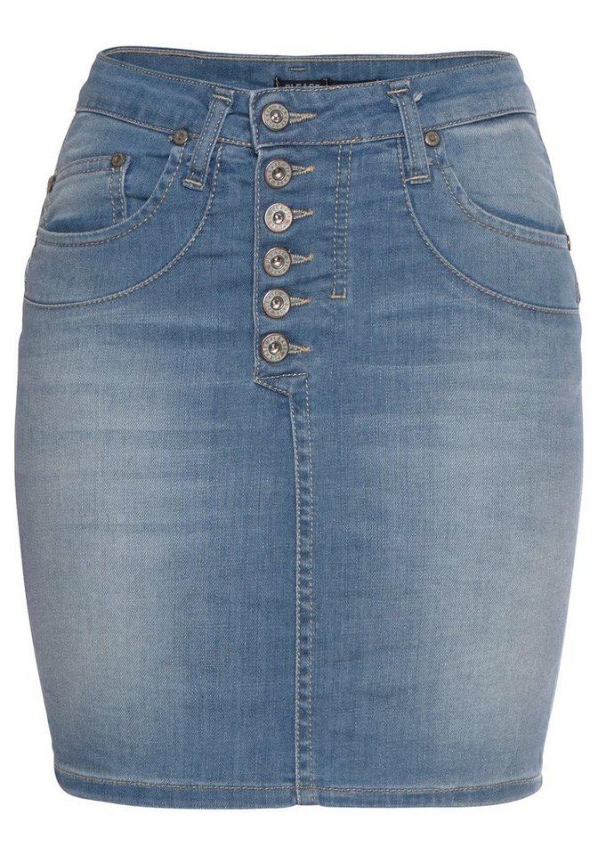 8bdd26da245a Please Jeans Minirock »G71« stylischer Jeansrock mit modischer Knopfleiste  und cooler Knopfleiste online kaufen | OTTO