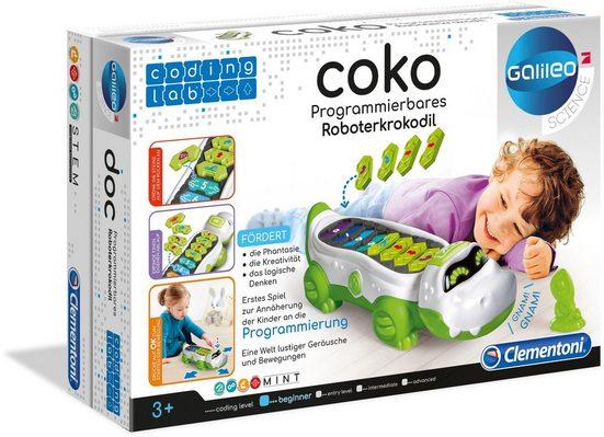 Clementoni® Modellbausatz »Krokodil KOKO«