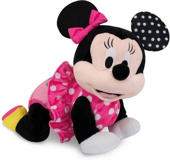 Clementoni® Kuscheltier »Baby Minnie - Krabbel mit mir«, interaktiv
