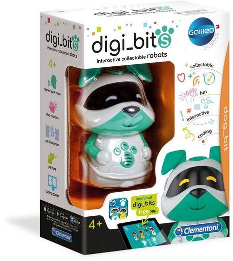 Clementoni® Modellbausatz »Galileo - digi_bits - dog_bit«, mit kostenloser App
