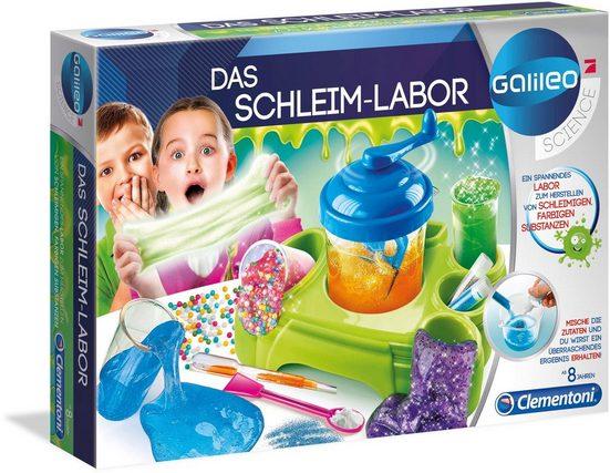 Clementoni® Experimentierkasten »Galileo - Das Schleim-Labor«