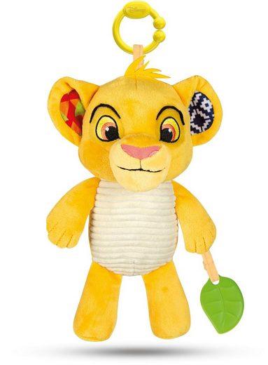 Clementoni® Kuscheltier »Disney König der Löwen - Aktivitäts-Plüsch Simba«