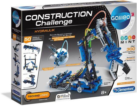 Clementoni® Modellbausatz »Construction Challenge - Hydraulik«