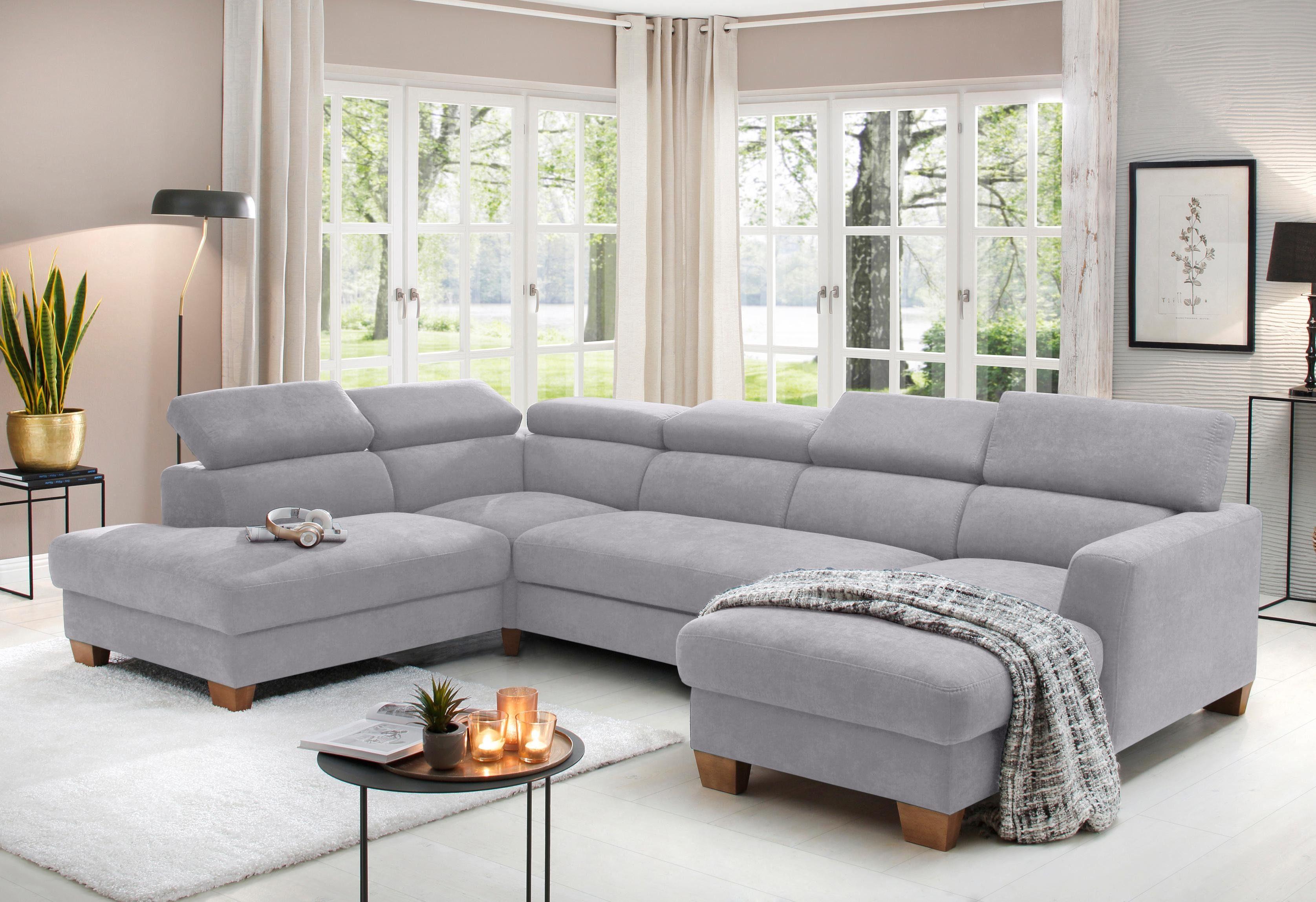 Home affaire Wohnlandschaft »Steve Luxus«, mit besonders hochwertiger Polsterung für bis zu 140 kg pro Sitzfläche online kaufen   OTTO