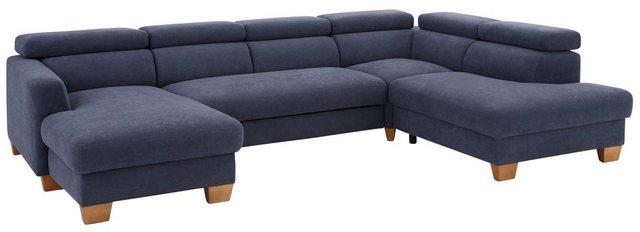 Sofas - Home affaire Wohnlandschaft »Steve Luxus«, mit besonders hochwertiger Polsterung für bis zu 140 kg pro Sitzfläche  - Onlineshop OTTO