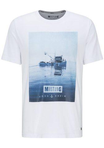 MUSTANG Marškinėliai »Alex C Photoprint«